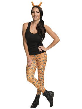 Pokemon Charizard Leggings and Headband Adult Costume Kit