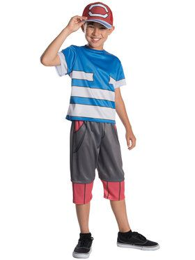 Pokemon Deluxe Ash Boy's Costume