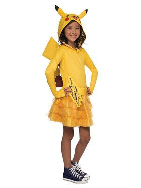 Pokemon: Pikachu Hoodie Dress For Children