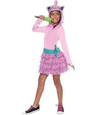 Pokemon Jiggly Puff Hooded Girl's Costume