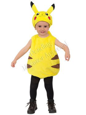 Pokemon Pikachu Bubble Costume For Toddlers