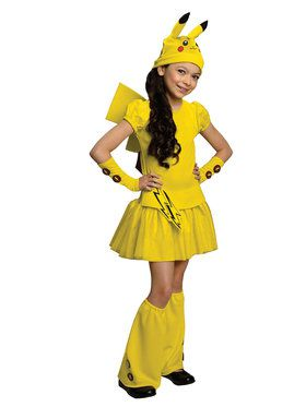 Pokemon Pikachu Costume  sc 1 st  Wholesale Halloween Costumes & Pokémon Halloween Costumes at Low Wholesale Prices for Adults u0026 Kids