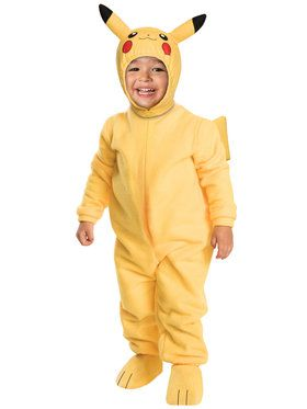 Pokemon Pikachu Toddler Costume Toddler