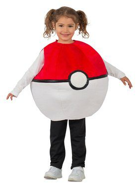 Pokemon Pokeball Child Costume