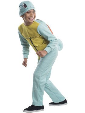 Pokemon Squirtle Boy's Costume