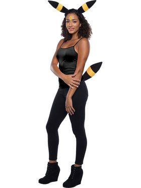 Umbreon Pokemon Costume Accessory Kit