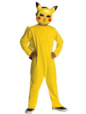 Pokemon Youth Pikachu Costume