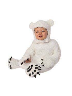 Baby Cub Polar Bear Costume