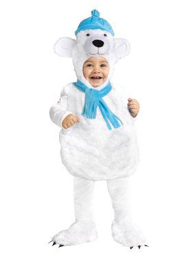Chilly Polar Bear Infant Costume 12-18M