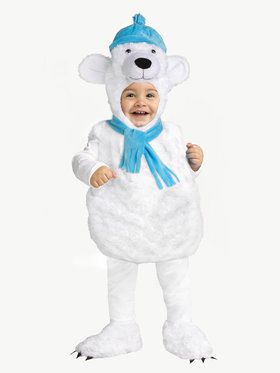 Polar Bear Costume For Toddlers