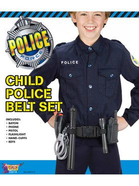 Police Officer Belt Set