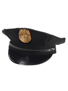 Police Chief Child Hat