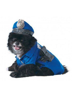 Police Dog Costume for Pet