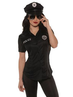 Police Fitted Women's Shirt