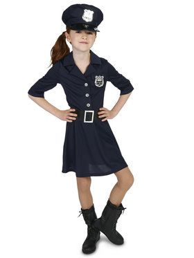 Police Girl Costume For Children