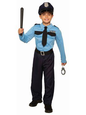 Police Hero Child Costume