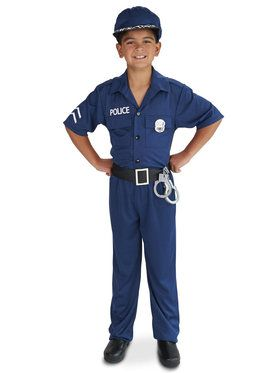 Police Officer Costume For Children