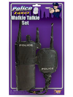 Police Walkie Talkies (Set)