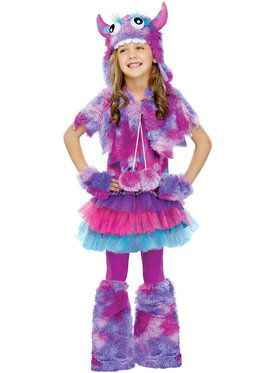 Polka Dot Monster Costume For Children