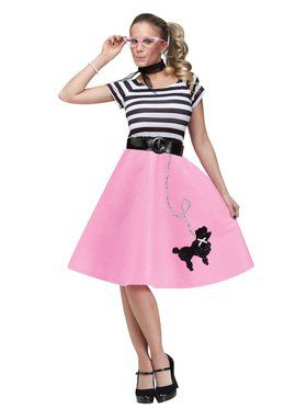 Poodle Dress Womens Costume