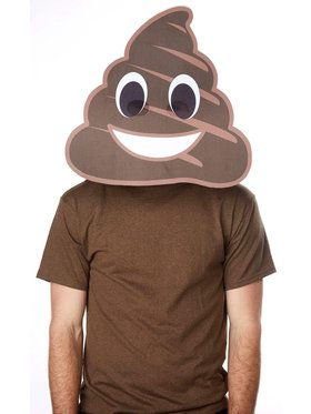 Poop Big Head Mask For Adults