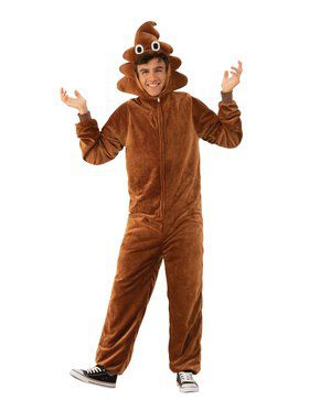 Poop Comfy Wear Adult Costume