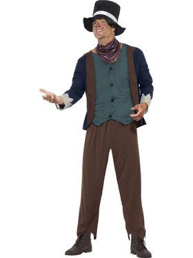 Poor Victorian Man Men's Costume