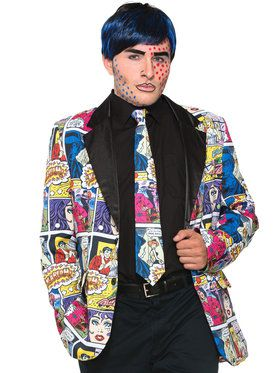 Pop Art Male Tie