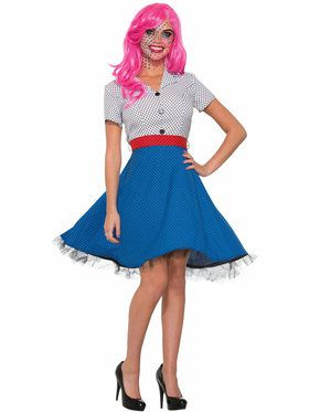 Pop Art Ms Dottie Costume - Adult Standard