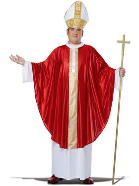 Pope Mens Plus Size Costume