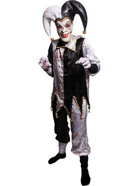 Possessed Harlequin Costume