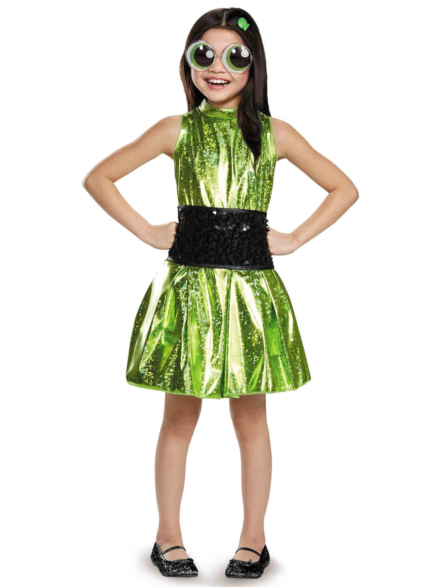 power puff buttercup deluxe girls costume - girls costumes for 2018