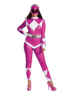 Mighty Morphin Power Rangers Adult Pink Ranger Costume