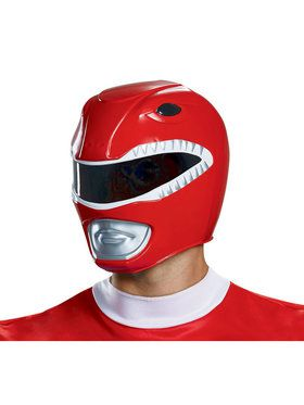 Mighty Morphin Power Rangers Red Ranger Adult Helmet