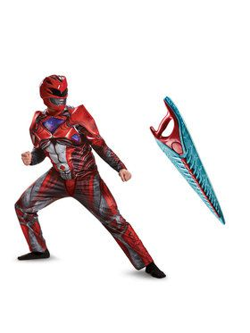 Power Rangers Movie: Red Ranger Adult Costume Kit