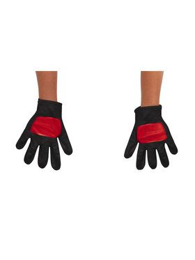 Ninja Steel Power Rangers Red Ranger Toddler Gloves