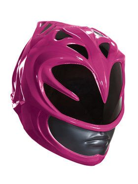 Power Rangers Pink Ranger Helmet For Adults