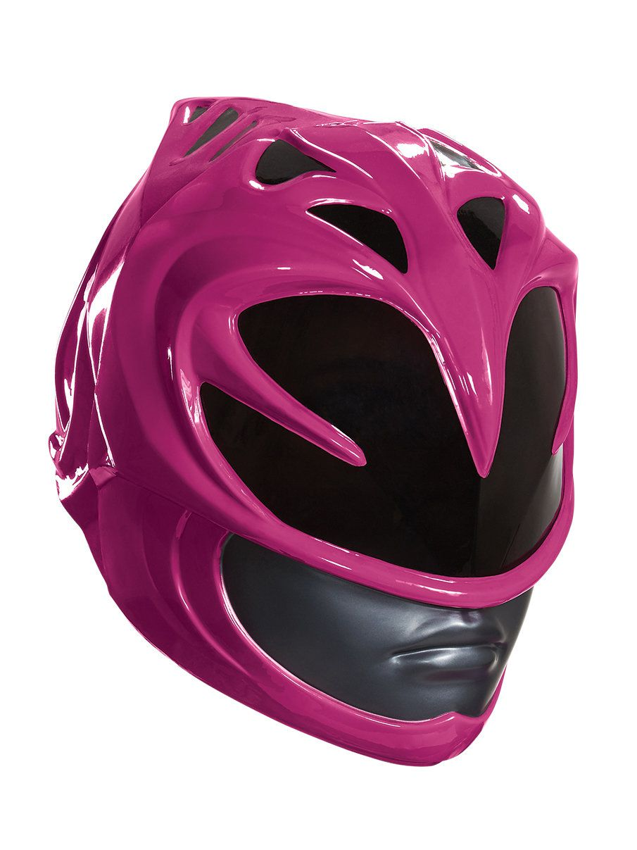 Power Rangers Pink Ranger Helmet For Adults Costume Accessories