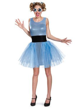 Powerpuff Girls Bubbles Deluxe Teen Costume
