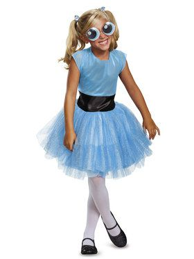 Child Deluxe Bubbles Tutu Costume - Powerpuff Girls