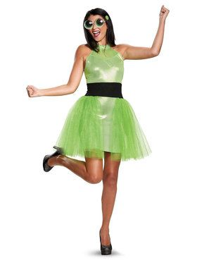 Powerpuff Girls Buttercup Deluxe Teen Costume