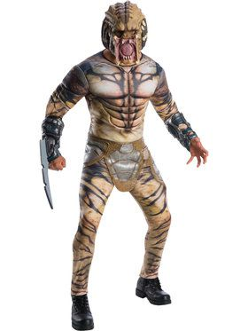 Predator Deluxe Costume for Men