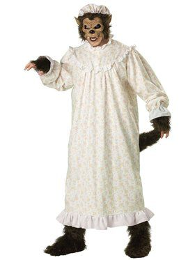Premier Big Bad Wolf Plus Adult Costume