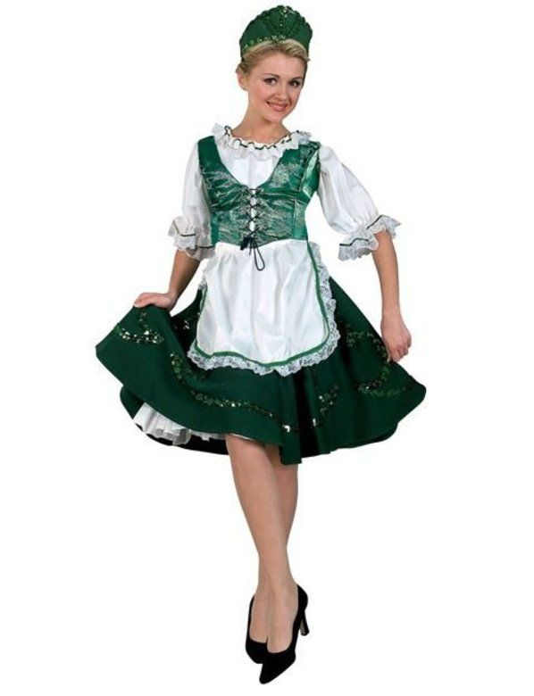 Premium Deluxe Irish Lass Adult  sc 1 st  Wholesale Halloween Costumes : irish costumes  - Germanpascual.Com
