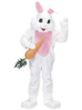 Complete Premium White Rabbit Costume