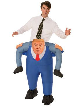 Adult Presidential Piggy Back Costume