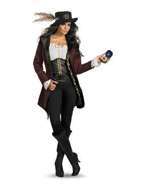 Prestige Pirates of the Caribbean Angelica Costume
