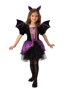 Pretty Bat Girl Costume for Kids