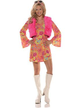 Pretty In Pink Women's Costume