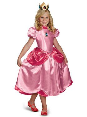 Princess Peach Costume for Girls